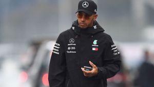Hamilton domina primeras prácticas del GP de Japón