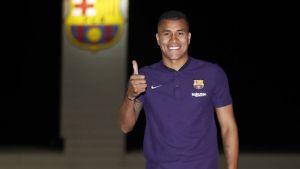 Barcelona adquiere a préstamo a colombiano Jeison Murillo