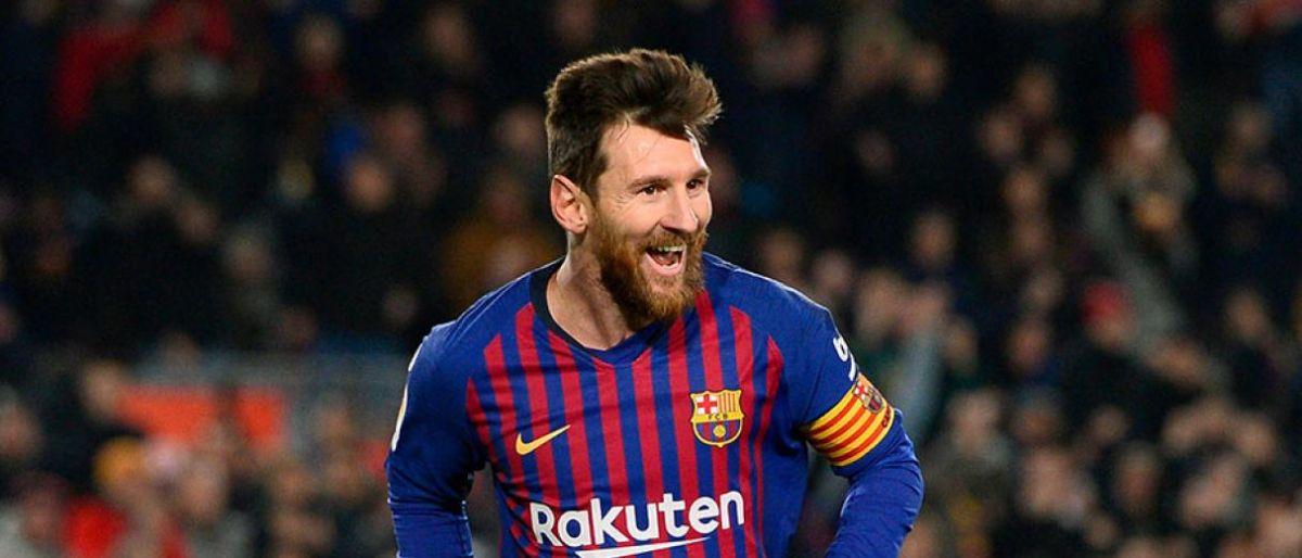 Messi brilla para que Barsa extienda su racha ganadora 1