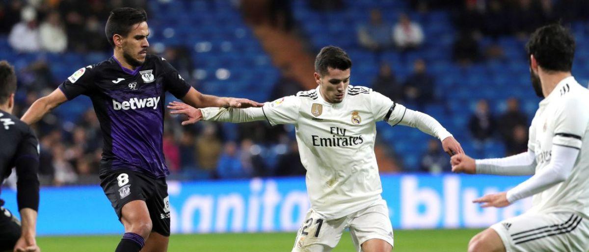 Real Madrid golea 3-0 a Leganés en la Copa del Rey