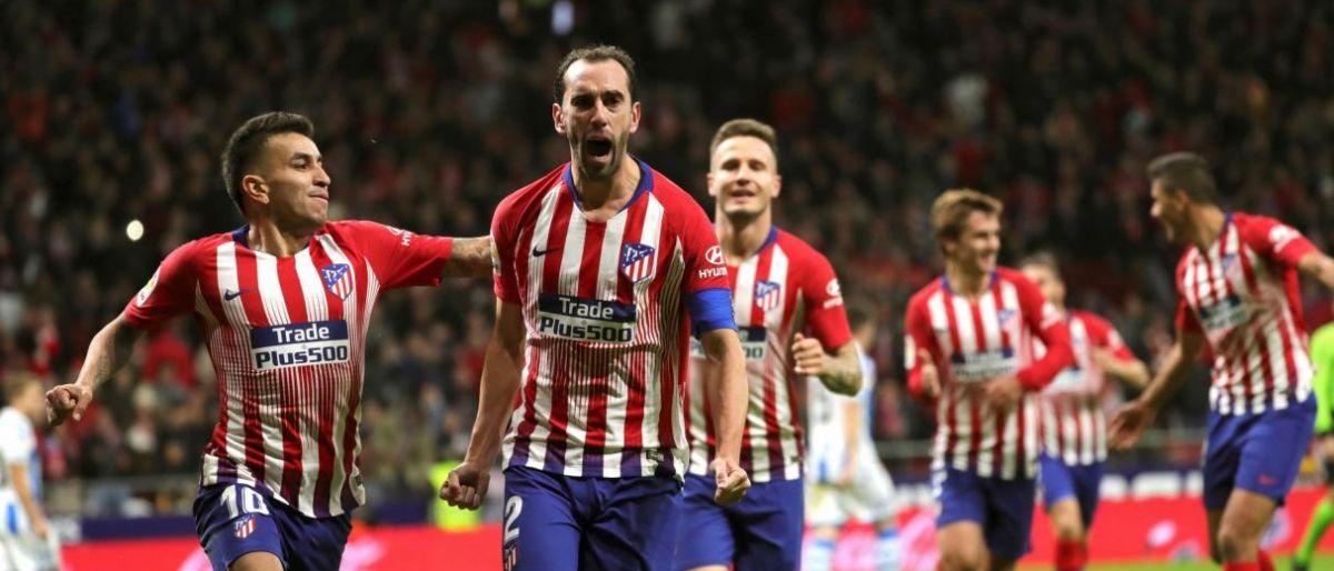 Centrales uruguayos del Atlético someten a la Juve 1