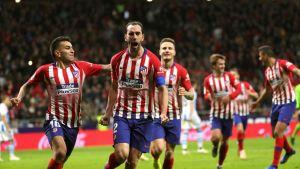 Centrales uruguayos del Atlético someten a la Juve