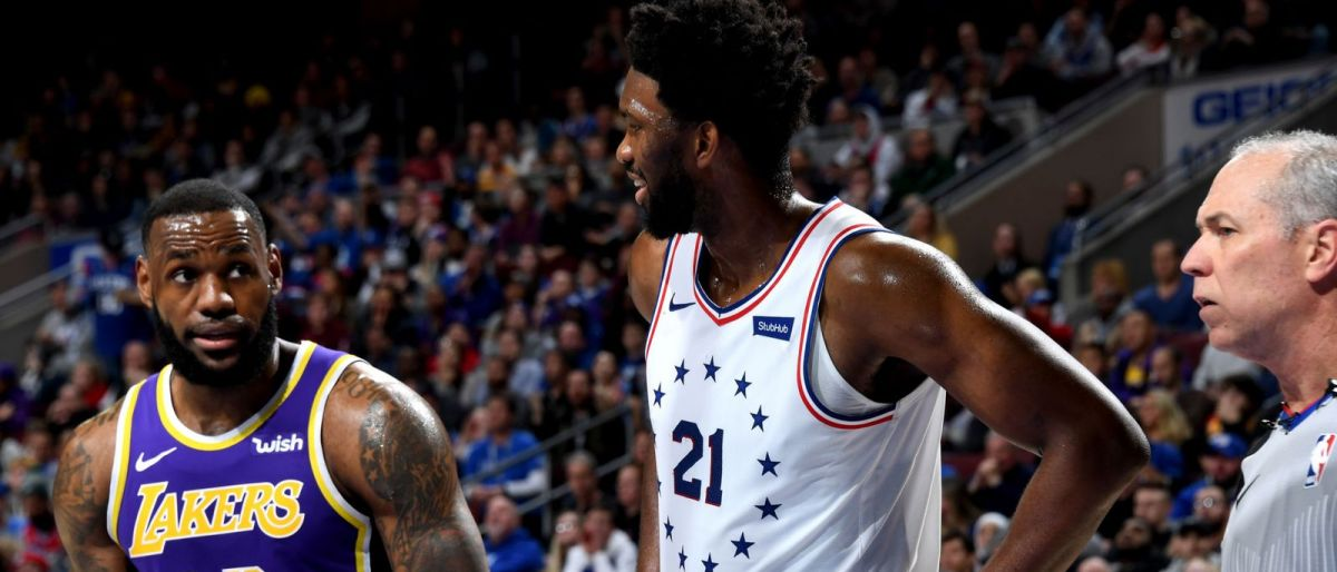 Embiid luce y guía a 76ers a triunfo sobre Lakers, 143-120