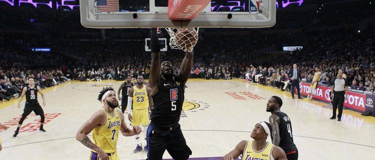 Gallinari guía a Clippers en victoria sobre Lakers en caída