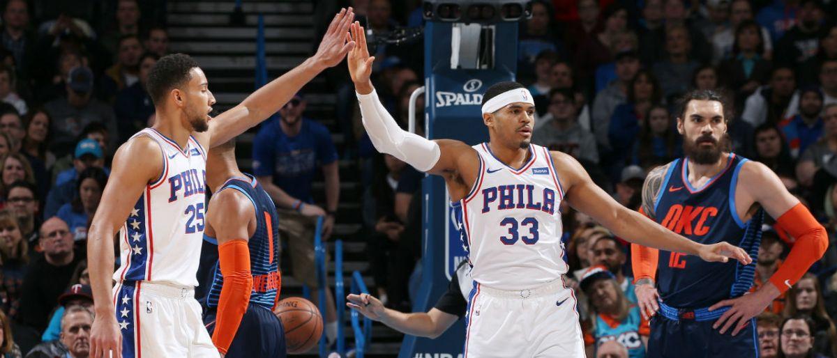 Harris y Simmons guían a 76ers a triunfo sobre Thunder