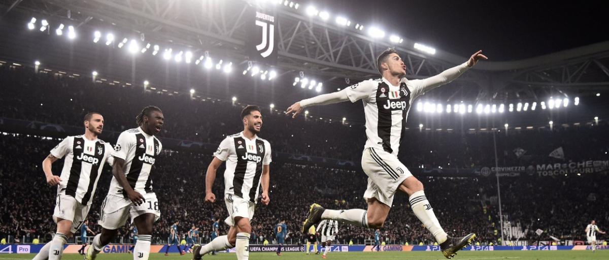 Triplete de Cristiano pone a Juve en cuartos de 'Champions'