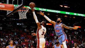 Wade rompe marca de Jordan; Heat supera a Hawks