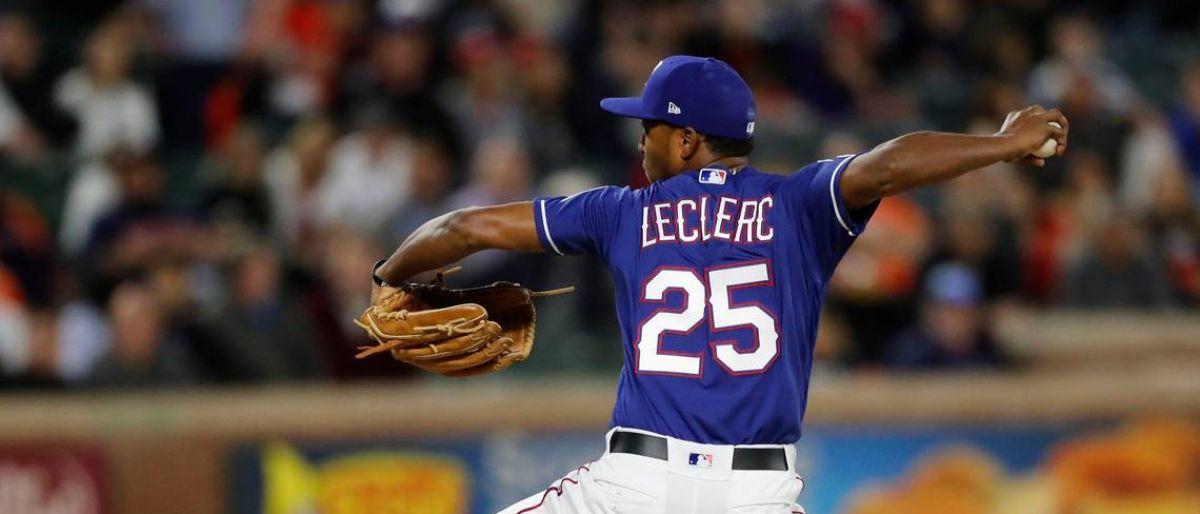 Rangers ratifican a Leclerc como su cerrador