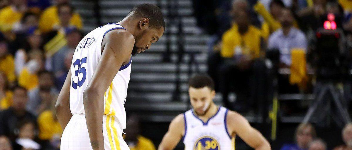 Warriors: Durant se pierde el resto de la semi del Oeste