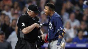 Manny Machado apela suspensión de un juego