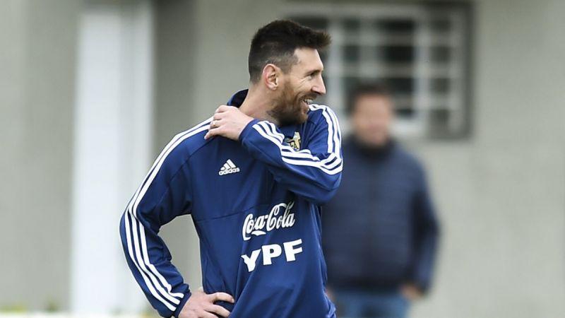 Messi: «Quiero terminar mi carrera habiendo ganado algo con la Selección»