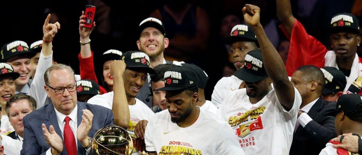Raptors, campeones de la NBA por 1ra vez