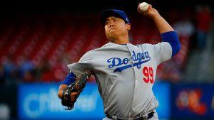 Dodgers activaron al abridor zurdo Hyun-Jin Ryu