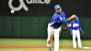 César Valdez gana el lanzador del año en LIDOM