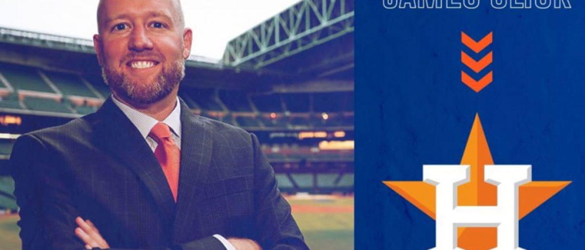James Click nombrado gerente general de Astros