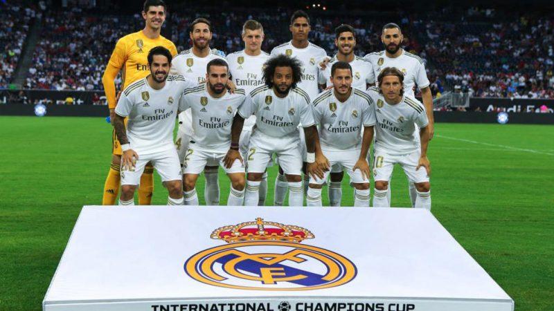 Jugadores del Real Madrid aceptan reducción salarial del 10%