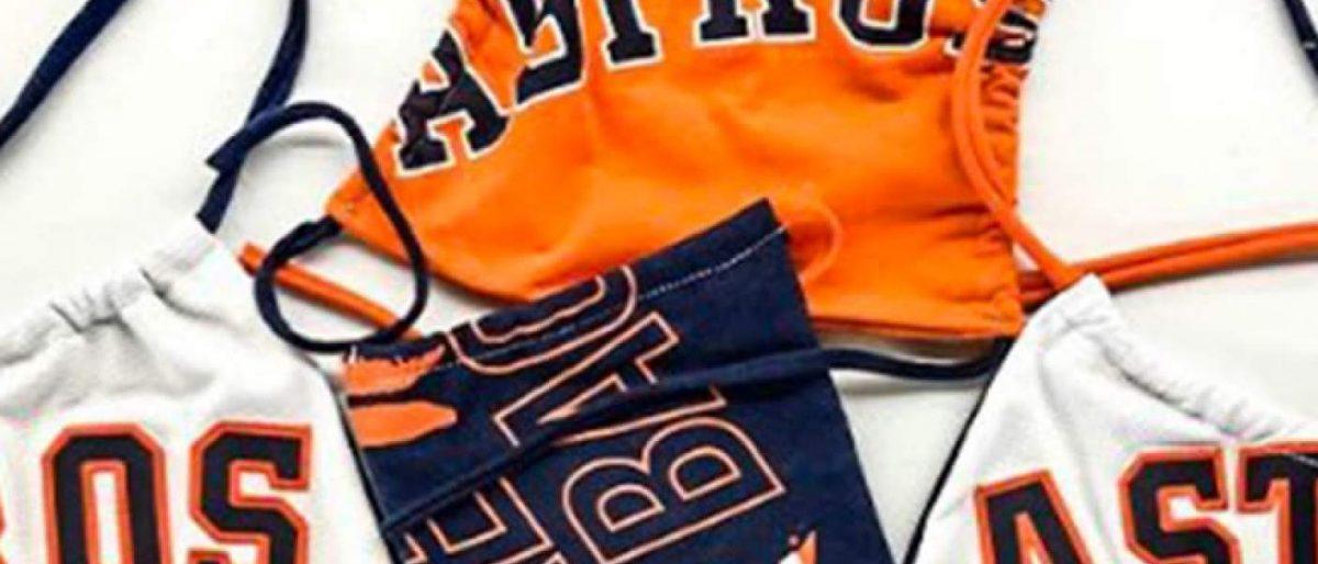 Astros ofrecen máscaras a cambio de donación
