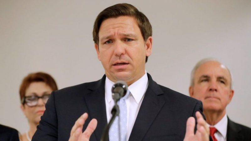 Gobernador de Florida Ron DeSantis dice que su estado está abierto a equipos deportivos profesionales