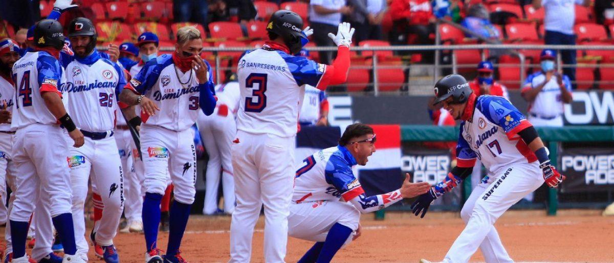 Lagares y Martínez dan primer triunfo a República Dominicana en la Serie del Caribe