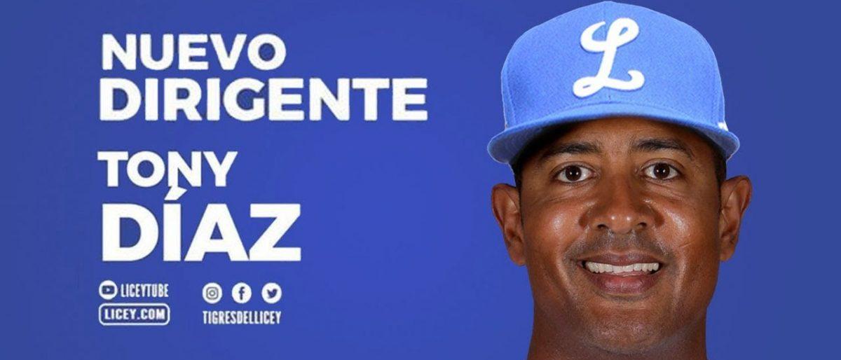Tigres del Licey designa a Tony Díaz como su nuevo dirigente