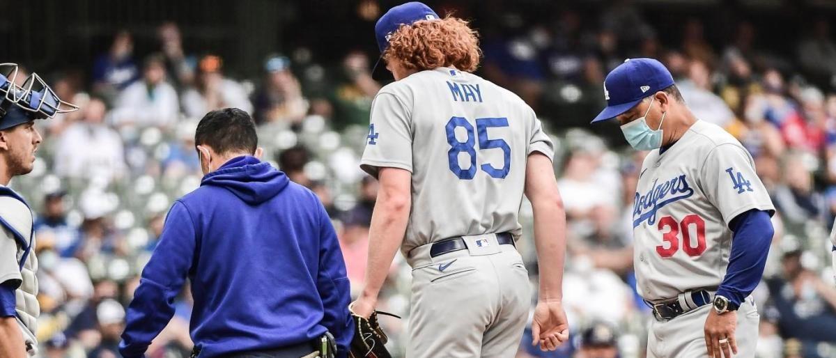 Dustin May a lista de lesionados de Dodgers