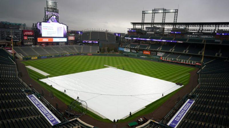 Padres vs. Rockies pospuesto por mal clima