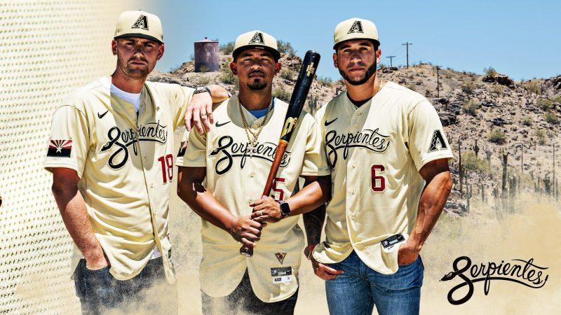 D-backs revelan sus uniformes de Serpientes
