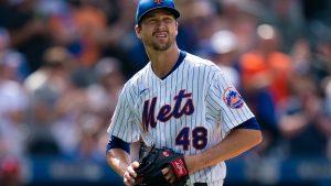 deGrom rumbo a lista de lesionados de Mets