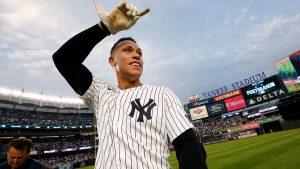 """Judge: """"Quiero ser un Yankee por siempre"""""""